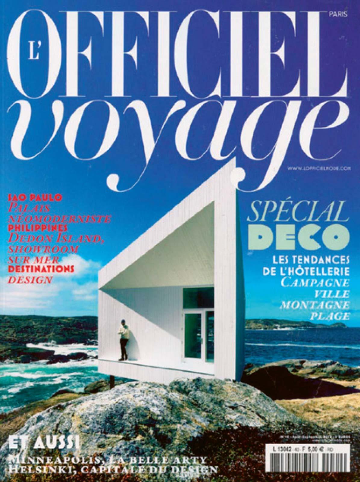 L'Officiel Voyage